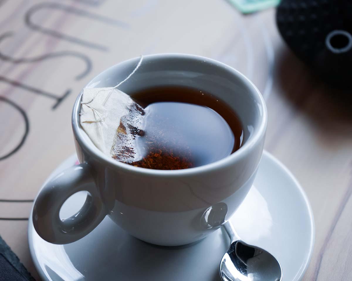Tè nella sala da tè